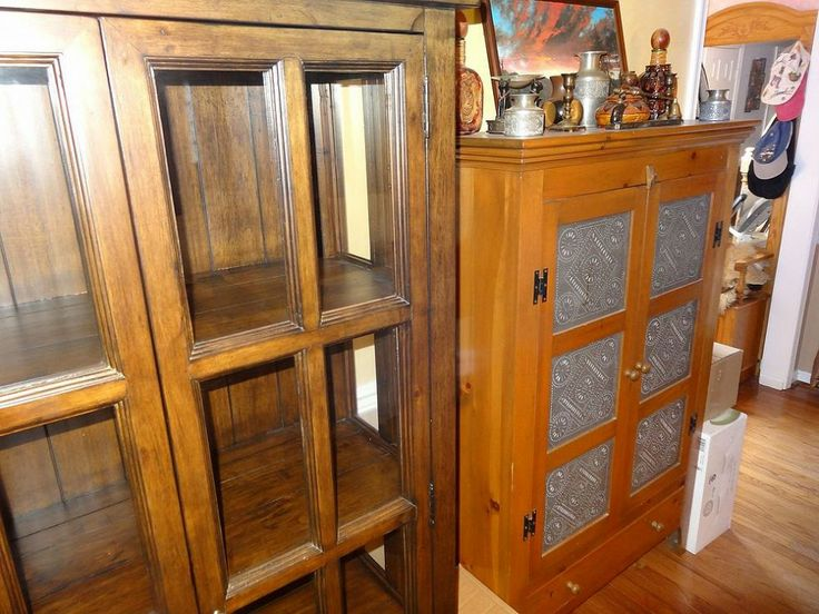Remove stain from cabinet
