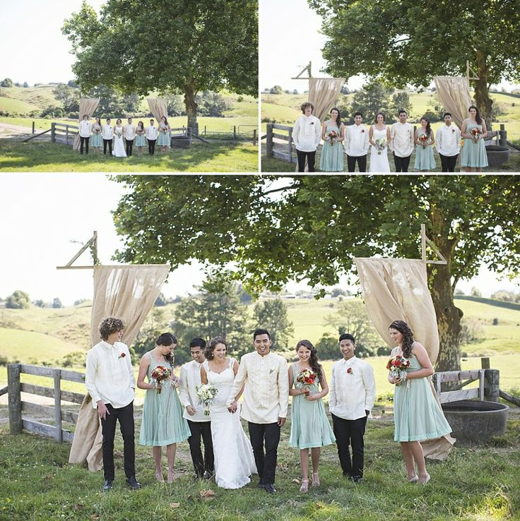 teal bridesmaids, rustic farm wedding, backyard wedding, DIY wedding, Rustic, Vintage, Catholic wedding, outdoor wedding, anna allport photography, Auckland w...