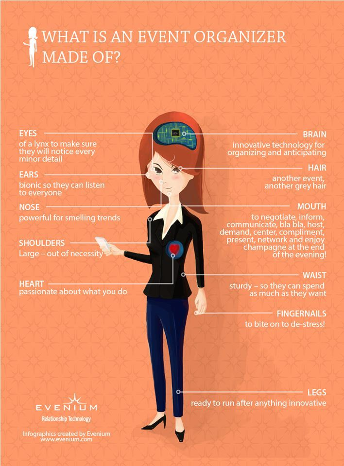 The Anatomy of an Event Planner eventspark www