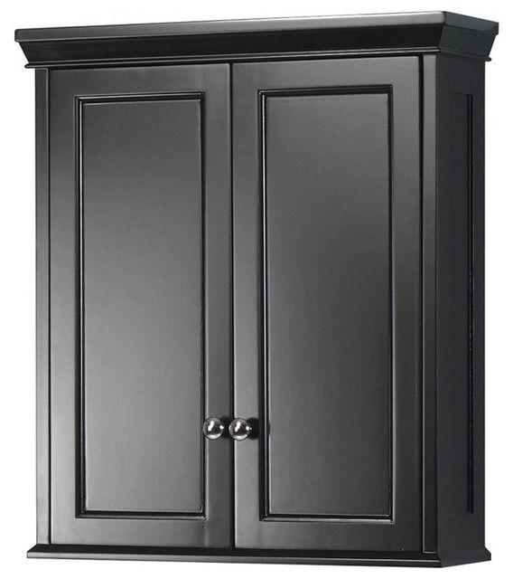 Black Bathroom Wall Cabinet, Black Wall Cabinet For Bathroom