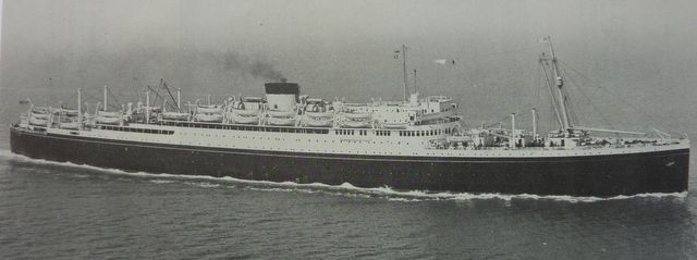 The BRITANNIC and the GEORGIC were the last liners built for the White Star Line and were merged with the Cunard Line in 1934.