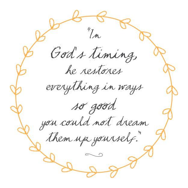 LoveLight Creative - God's Timing