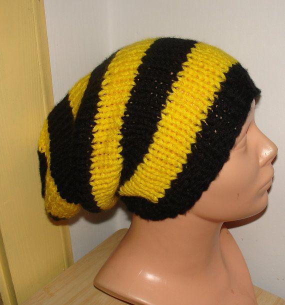 Knit Hat Slouchy women / men  hat Men Women  Knit by Ifonka