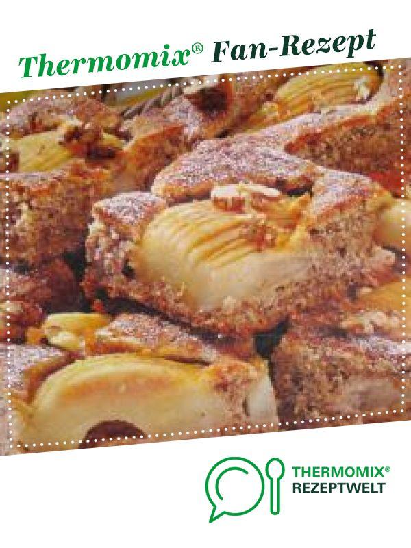 Blitz Birnen Walnuss Kuchen Rezept Walnusskuchen Thermomix Kuchen Thermomix
