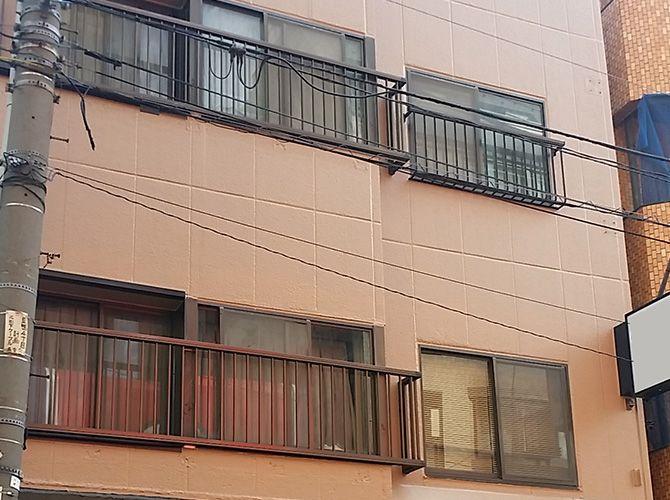 東京都豊島区の外壁塗装・屋上防水工事の施工事例