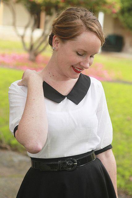 Sewing - The Classic Airelle Blouse {via Jennifer Lauren Vintage}