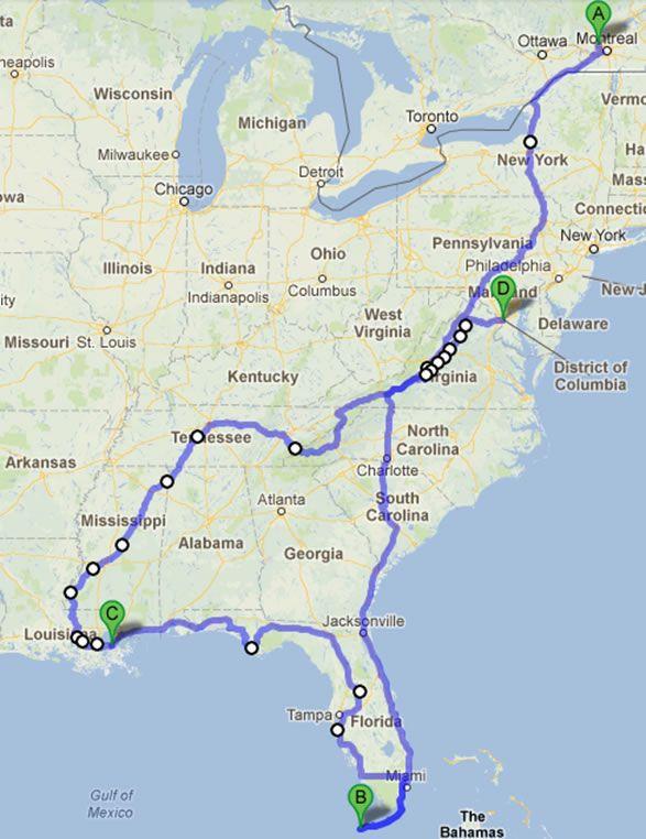 À la découverte du Sud-Est américain - VRcamping - Le site #1 au Canada sur le monde du véhicule récréatif, du camping et du caravaning!