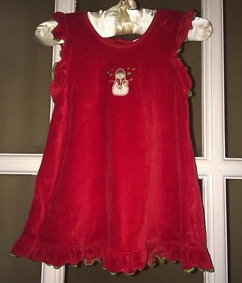 Kissy-Kissy-Girls-Snowman-Christmas-Jumper-Dress-Size-3-6 ...