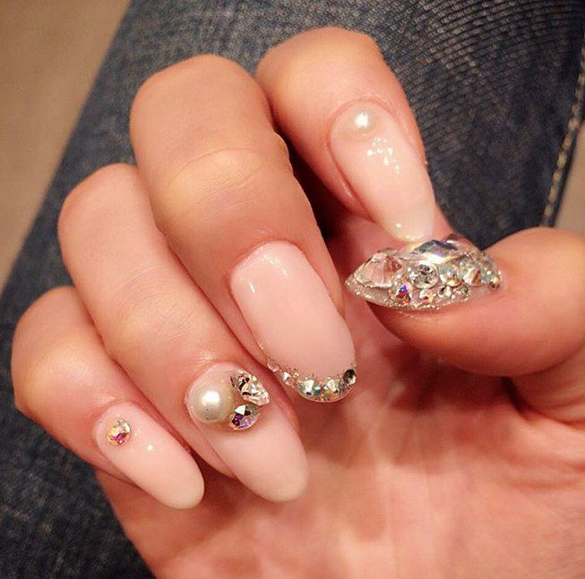 164 best autumn trends images on pinterest holidays gel nail pearl nail art ideas to make your holiday season more elegant prinsesfo Image collections