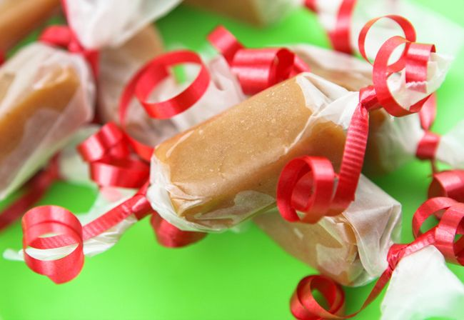 Homemade Caramels — Pip and Ebby