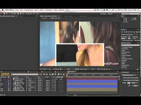 After Effects SplitScreen Tutorial - YouTube