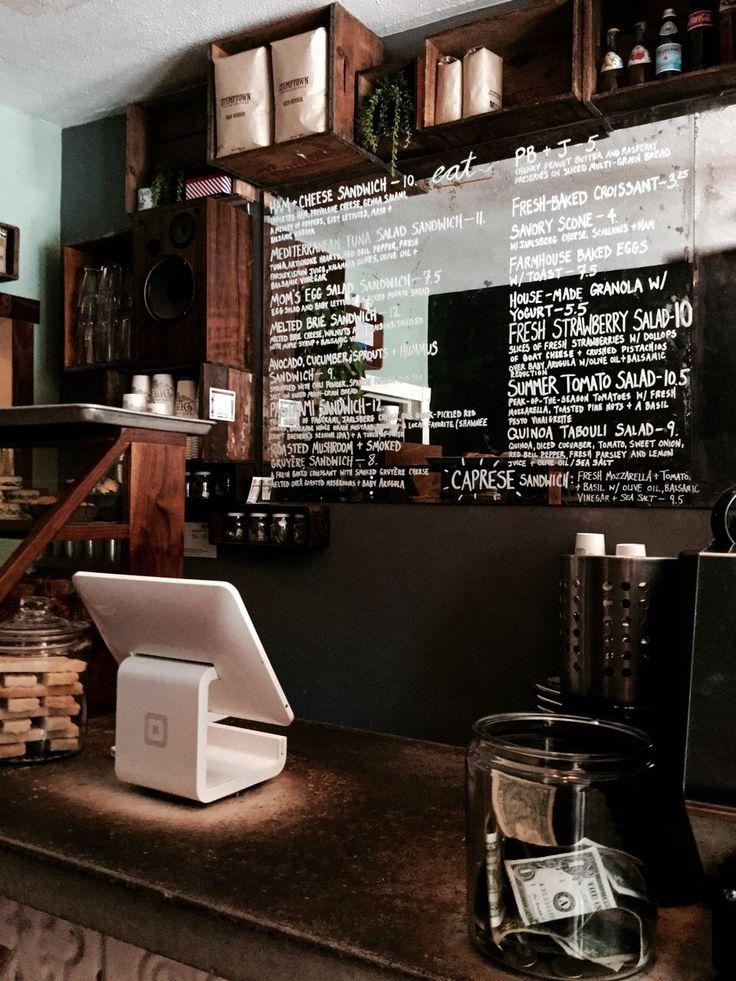 Coffee Store Cafe Brown Aesthetic Dark Aesthetic