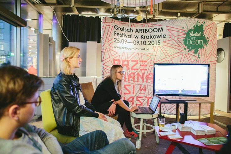 ArtBoom Festival 2015  Artist's Talk: Wyjście w Polskę Honorata Martin Moderacja: Aneta Rostkowska Fot. Michał Ramus, www.michalramus.com