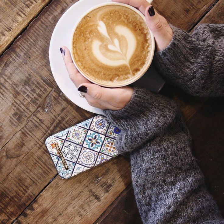 Mosaic case, coffee, autumn, cosy  Idealofsweden. iDeal of Sweden