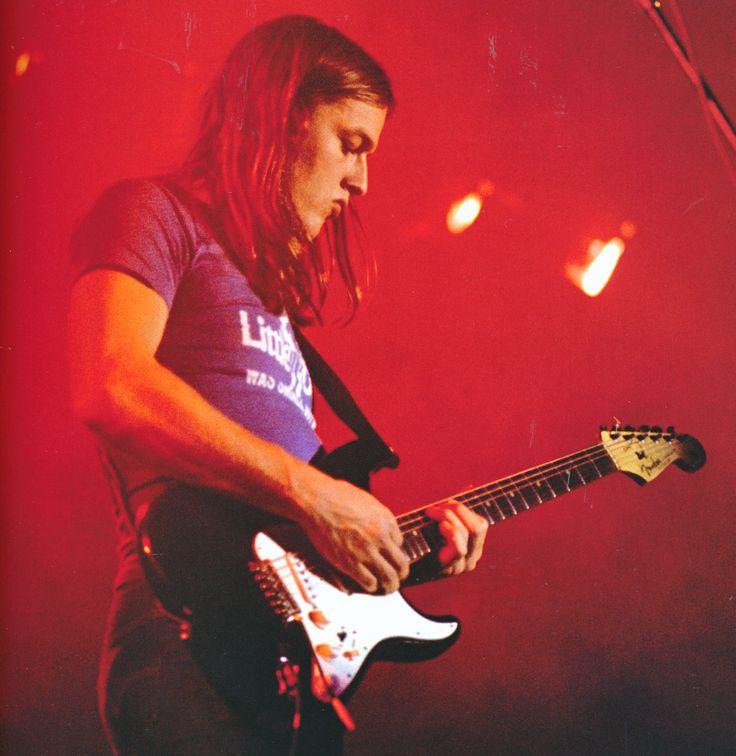 David Gilmour, Toulouse, Nov 1972.