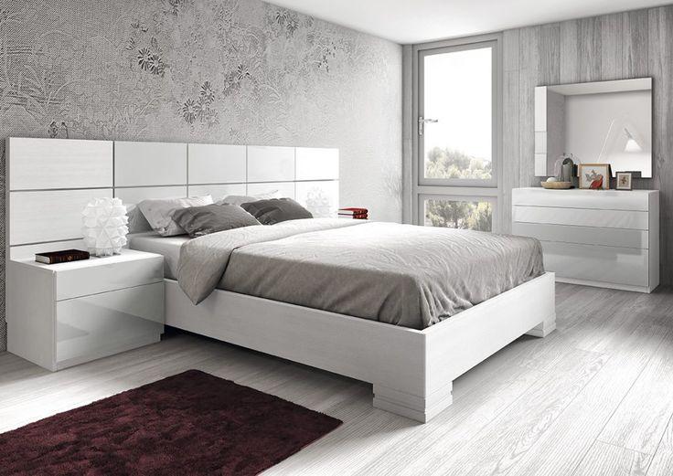 Dormitorio moderno (168 – D31) - Muebles CASANOVA