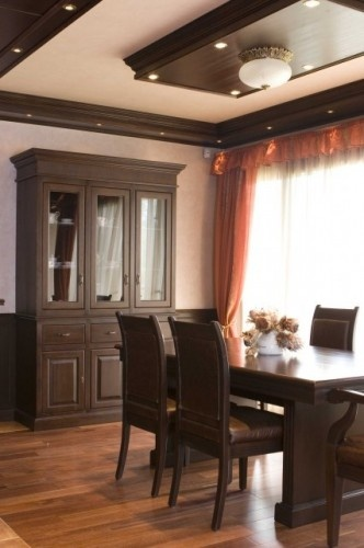 Love Dark Wood Trim