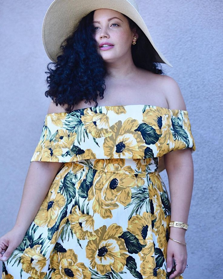 This season's must-have dress is in the blog linked in bio (GirlWithCurves.com).