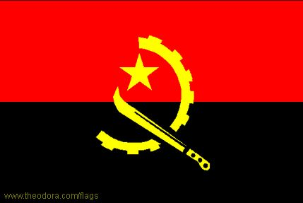 Flag of Angola - Geography, Flag, Map, Economy, Geography, Climate, Natural Resources, Current Issues, International Agreements, Population, Social Statistics, Political System