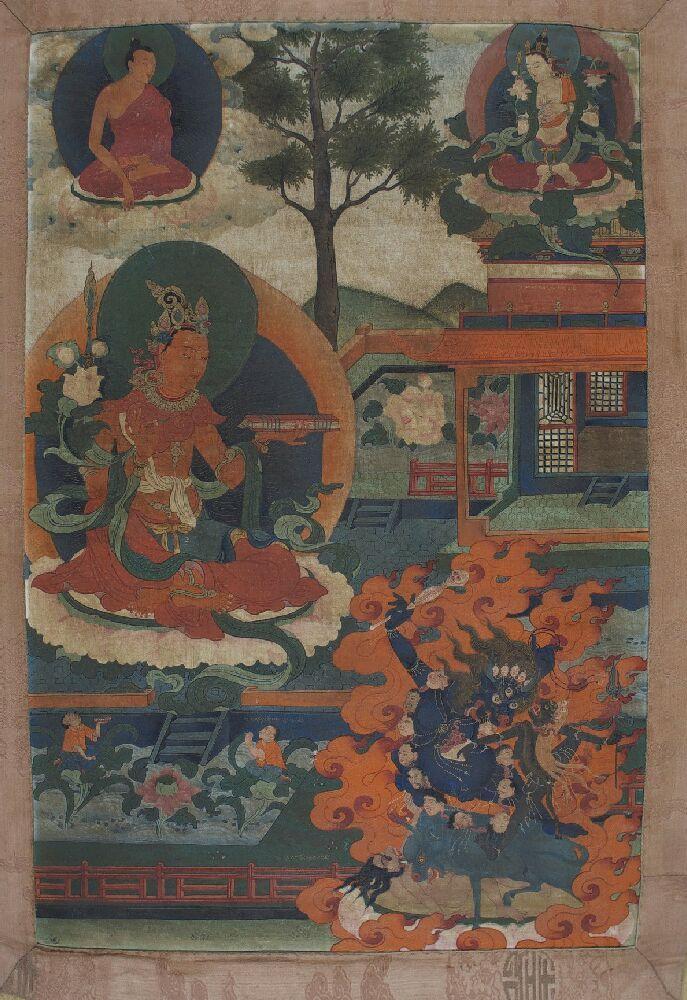 Manjushri (Bodhisattva & Buddhist Deity): Bodhisattva Manjushri (Bodhisattva…