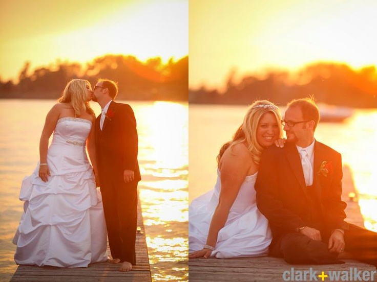 sunset portraits in the 1000 islands- so pretty