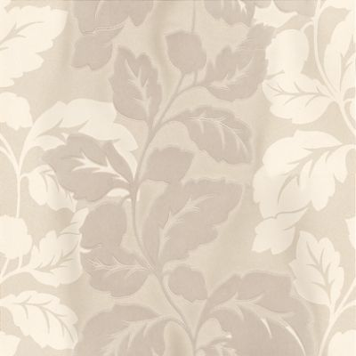 Ornella Flock Pearl (W0007/03) - Clarke & Clarke Wallpapers - A beautiful and elegant design of leaf-trails in matt cream and a milky cream flock on a shiny background of shimmering pearl. A blend of textures for stylish decadence! Additional colourways also available. Please order sample for true colour match.