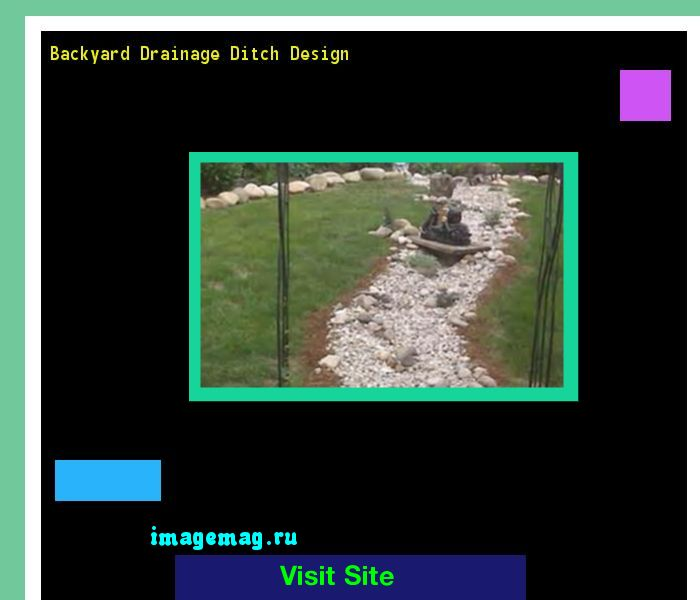 Backyard Drainage Ditch Design 160351 - The Best Image Search
