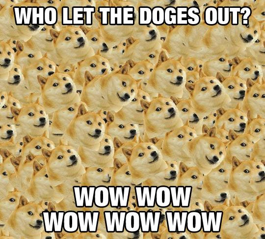 Tried so hard not to have any Doge memes in my boards.. But this is hilarious!