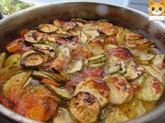 ΜΑΓΕΙΡΙΚΗ ΚΑΙ ΣΥΝΤΑΓΕΣ: Κολοκυθάκια με διάφορα λαχανικά στον φούρνο !!!