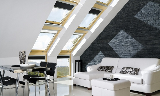 Attic ladders, skylights and roof windows from FAKRO
