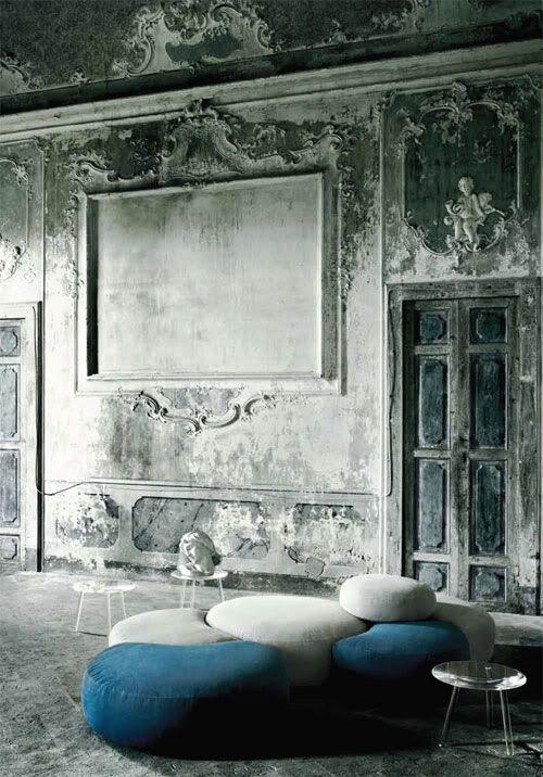 30 Diseños frescos del grunge Interior
