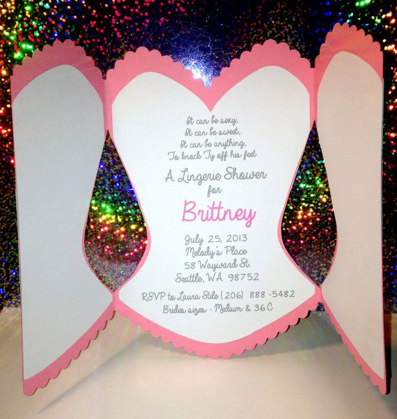 Bachelorette Party Invitation Bridal Shower Corset Invitations Wedding Pinterest And
