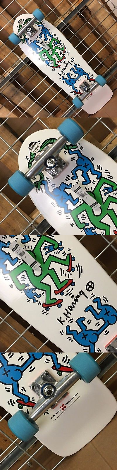 Longboards-Complete 165942: New Alien Workshop Haring Skateout White Complete Skateboard - 9.75In X 30In -> BUY IT NOW ONLY: $114.95 on eBay!