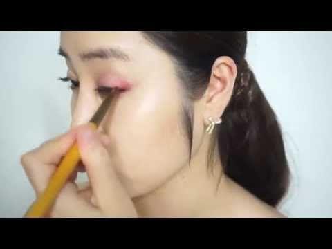 Makeup Tutorial Korean: Stage performance recital Look 핑크 메이크업 연주회 메이크업 리싸이틀 룩 - YouTube