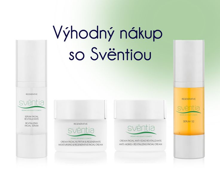 Sventia, bio-kozmetika zo Španielska, dostupné na www.plumeria.sk