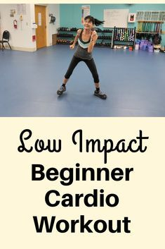 low impact beginner cardio workout  fitness with cindy in