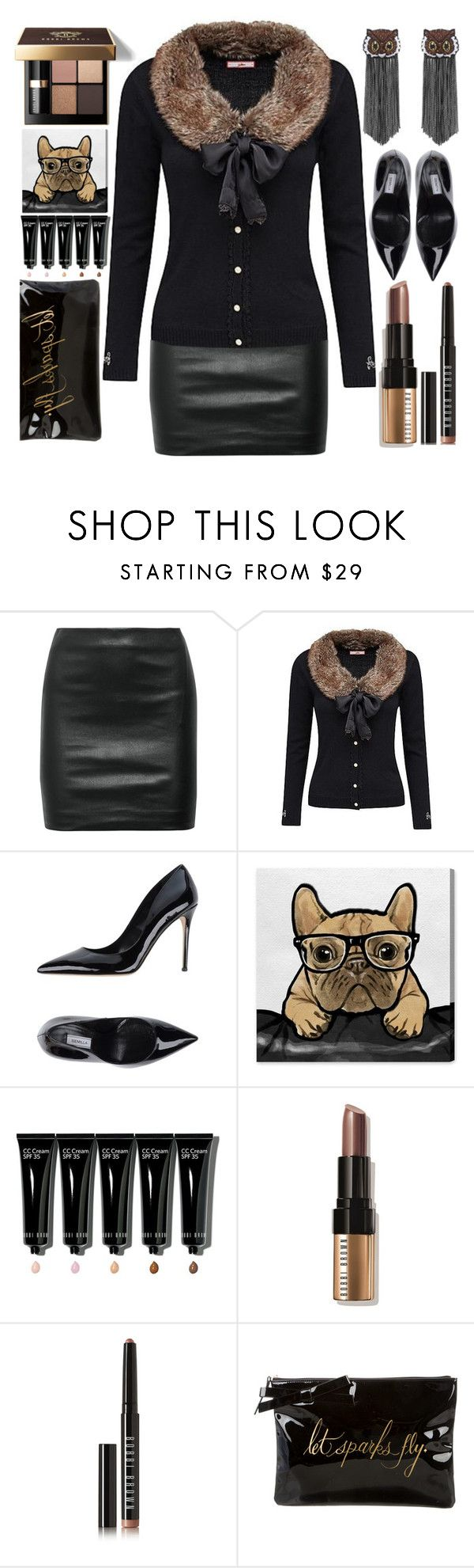 """""""Kiss and Hug"""" by grozdana-v ❤ liked on Polyvore featuring The Row, Joe Browns, Bobbi Brown Cosmetics, Semilla, Oliver Gal Artist Co., Kate Spade and Forest of Chintz"""