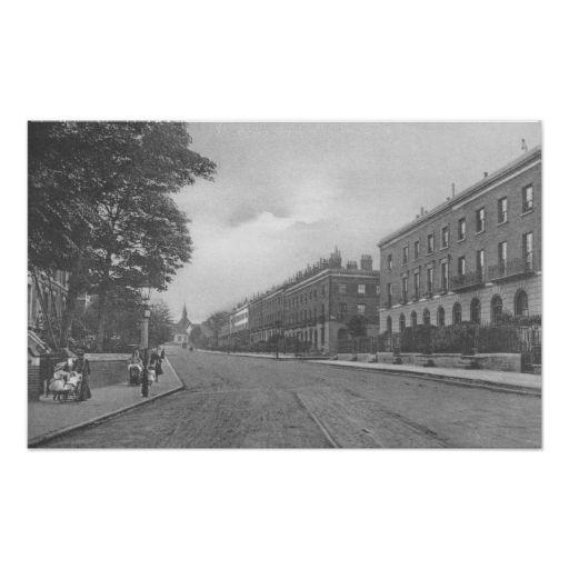 St. Pauls Road, Canonbury, Islington, c.1905 Print