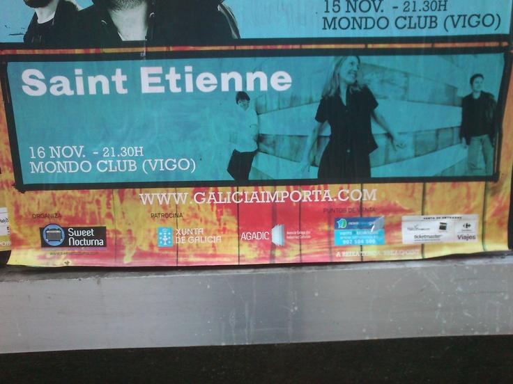 Saint Etienne plays Vigo, Spain