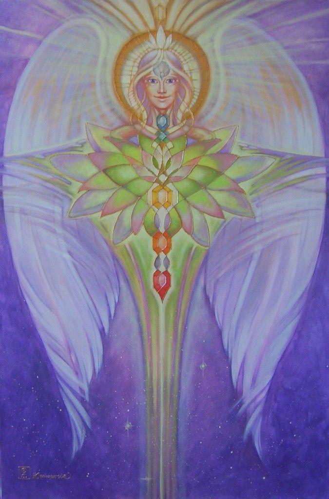 lotus angel by kashaja9 on DeviantArt: