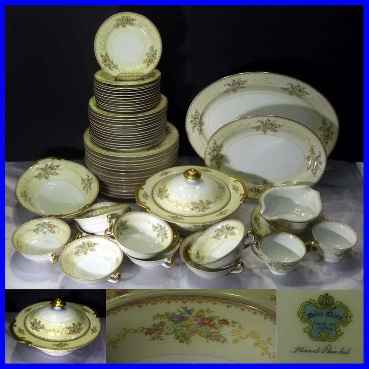 47 best vintage meito china and others images on pinterest Most popular china patterns