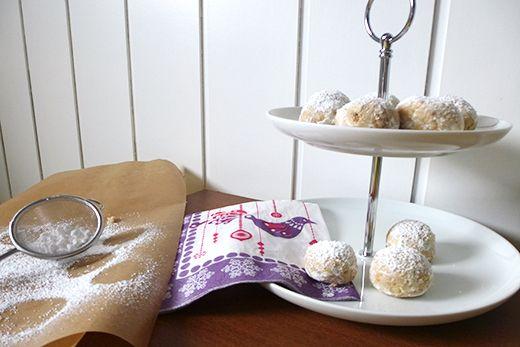 Holunderweg 18: Last Minute DIY Geschenkidee #2: Kekskonfekt mit gebrannten Mandeln