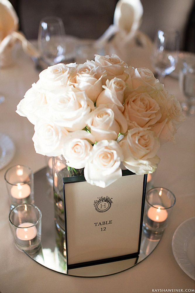 Best mirror wedding centerpieces ideas on pinterest