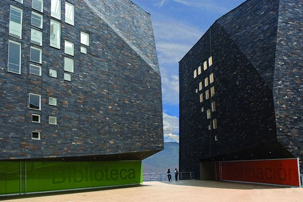 Spain Library, Medellin, Colombia