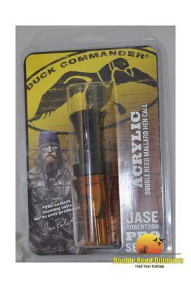 Duck Commander Calls Jase Robertson Pro Series Acrylic Double Reed Hen