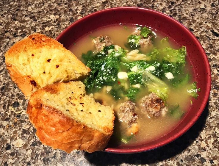 KALE in this scrumptious Italian Wedding Soup saves the