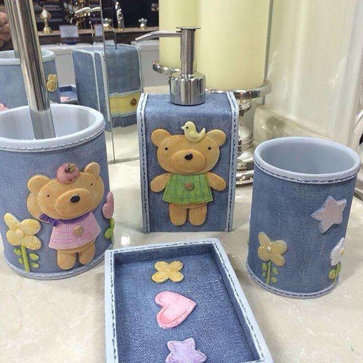 Забавная коллекция аксессуаров для ванной комнаты с мишками!  Приобрести милых мишек можно здесь: https://goo.gl/qW2f1Y  #wasserkraft #вассеркрафт #аксессуарыдляванной #ершикдляунитаза #дозатордляжидкогомыла #стакан #стакандлязубныхщеток #мыльница #сантехника #ванная #ваннаякомната #дизайнванной #интерьерванной #ремонтванной #ремонтвванной