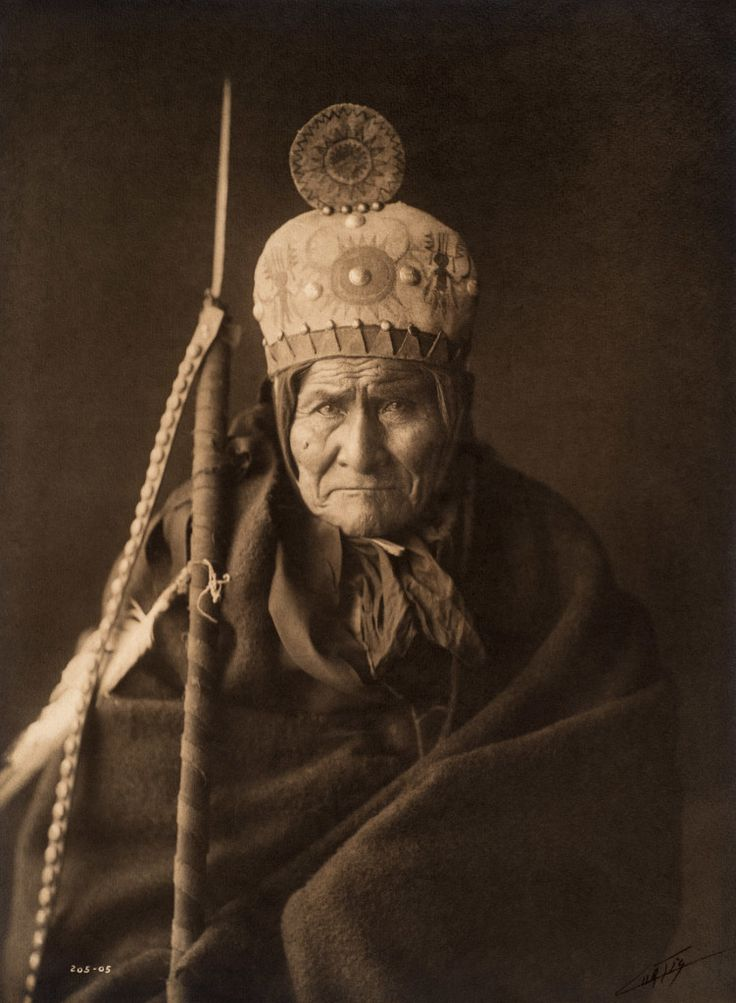 Geronimo of the Apache, 1905, US Southwest Photo by Edward S. Curtis