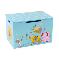 Traditional Toys - Wooden Toy Box by MOMO. A lovely wooden toy box and a great place to store all those toys! Buy now: £59.99