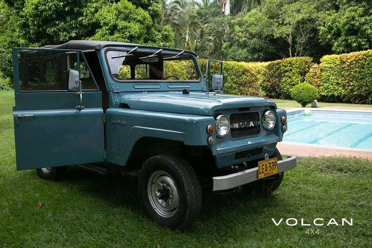 "'Indigo', our extremely rare-to-the-US, ""Hemmings Pick"" 1979 Nissan Patrol LG-60 from Volcan 4x4."